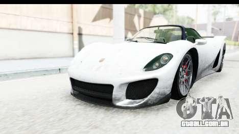 GTA 5 Pfister 811 SA Lights para GTA San Andreas