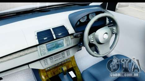 Toyota Avanza Veloz 2012 v1.1 para GTA San Andreas vista traseira