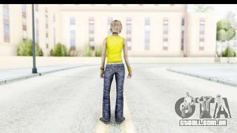 Silent Hill 3 - Heather Sporty Yellow Glasses para GTA San Andreas terceira tela