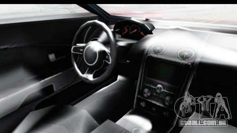 GTA 5 Vapid Bullet Face FMJ para GTA San Andreas vista interior