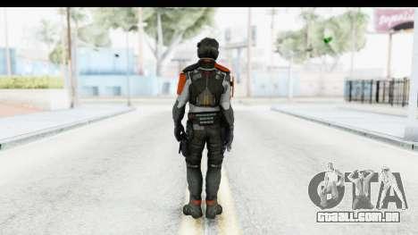 Homefront The Revolution - KPA v5 Captain para GTA San Andreas terceira tela