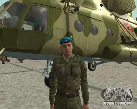 Pak combatentes aéreos para GTA San Andreas quinto tela