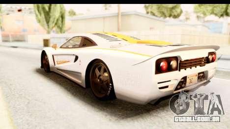 GTA 5 Progen Tyrus IVF para o motor de GTA San Andreas
