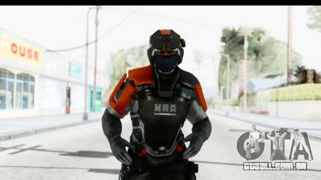 Homefront The Revolution - KPA v4 Captain para GTA San Andreas