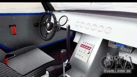 GTA 5 Bravado Banshee 900R Carbon Mip Map IVF para GTA San Andreas vista interior