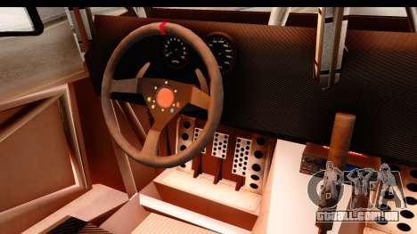 GTA 5 Desert Raid SA Lights PJ para GTA San Andreas vista interior