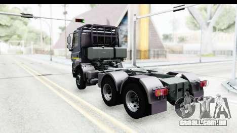Tatra Phoenix Agro Truck v1.0 para GTA San Andreas esquerda vista