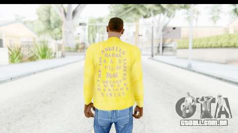 I Feel Like Kobe Sweatshirt para GTA San Andreas terceira tela