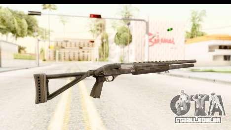 MP-153 para GTA San Andreas segunda tela