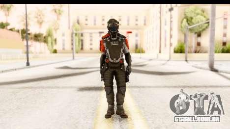 Homefront The Revolution - KPA v2 Captain para GTA San Andreas segunda tela