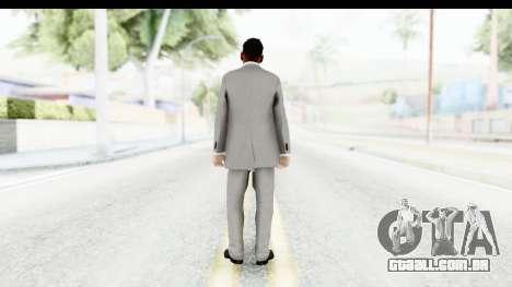 Messi Formal para GTA San Andreas terceira tela