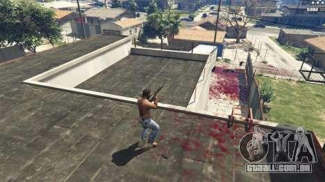 GTA 5 Extreme Blood 0.1 segundo screenshot