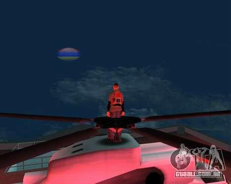 Lua nova arménio para GTA San Andreas terceira tela