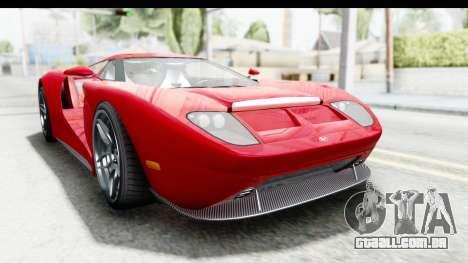 GTA 5 Vapid Bullet Face FMJ para GTA San Andreas