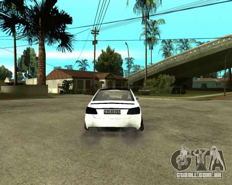 Mercedes-Benz E250 Armenian para GTA San Andreas vista interior