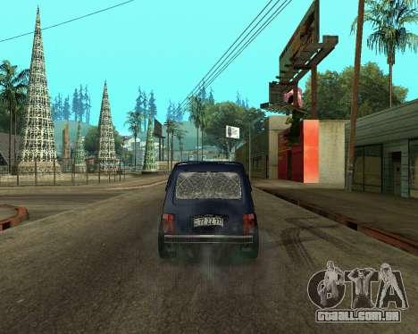 Niva 2121 Armenian para GTA San Andreas vista direita