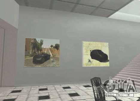 O Grotti concessionária em San Fierro para GTA San Andreas terceira tela