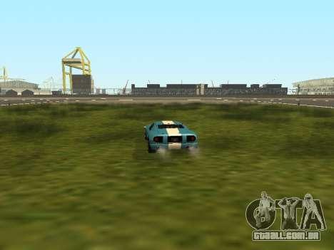 Carro-flip sem perder velocidade para GTA San Andreas segunda tela