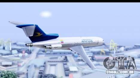 Boeing 727-200 Aeropostal para GTA San Andreas vista direita