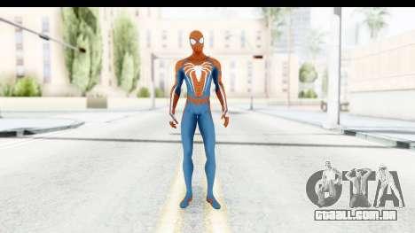 Spider-Man PS4 E3 para GTA San Andreas segunda tela