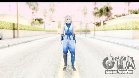 DoA 5: LR - Marie Rose Ninja para GTA San Andreas segunda tela