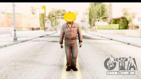 Left 4 Dead 2 - Zombie Pumpkin para GTA San Andreas segunda tela