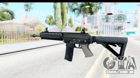 SG556 para GTA San Andreas segunda tela