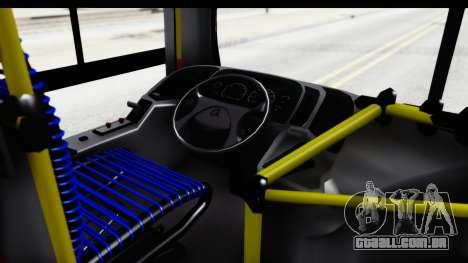 Metalpar Tronador 2 Puertas Linea 324 para GTA San Andreas vista interior