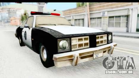 Pontiac Ventura LSPD from Silent Hill 2 para GTA San Andreas