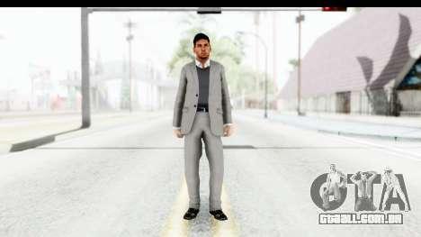 Messi Formal para GTA San Andreas segunda tela