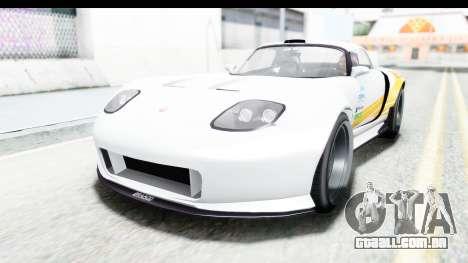 GTA 5 Bravado Banshee 900R Carbon Mip Map para GTA San Andreas vista interior