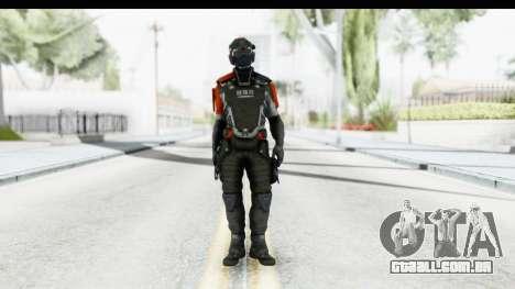 Homefront The Revolution - KPA v5 Captain para GTA San Andreas segunda tela
