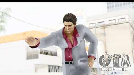 Yakuza 5 Kazuma Kiryu para GTA San Andreas