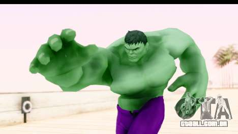 Marvel Heroes - Hulk para GTA San Andreas
