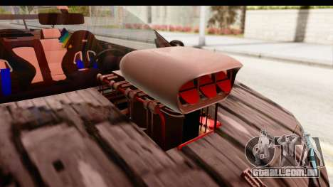Renault Megane Spyder Full Tuning v2 para GTA San Andreas vista interior