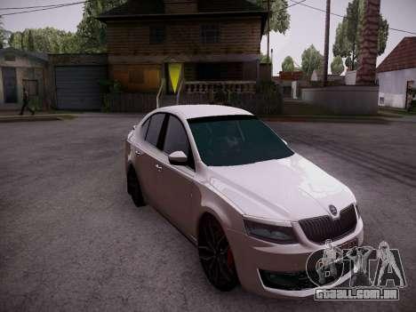 Skoda Octavia A7 R para GTA San Andreas