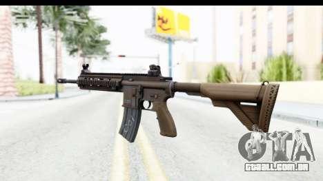Heckler & Koch HK416 para GTA San Andreas segunda tela