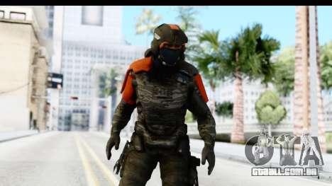 Homefront The Revolution - KPA v3 Camo para GTA San Andreas