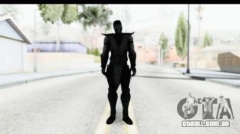 Mortal Kombat vs DC Universe - Noob Saibot para GTA San Andreas segunda tela