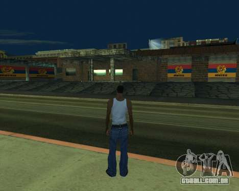 Nova garagem Arménia para GTA San Andreas segunda tela