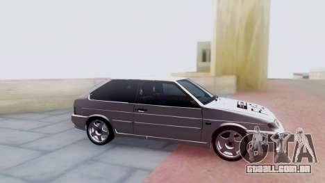 VAZ 2113 LoudSound para GTA San Andreas vista traseira