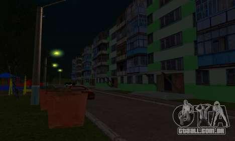 O novo bairro, perto de Arzamas para GTA San Andreas décimo tela