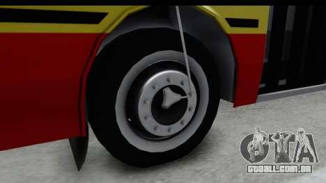 Metalpar Tronador 2 Puertas Linea 324 para GTA San Andreas vista traseira