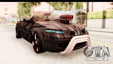 Renault Megane Spyder Full Tuning v2 para GTA San Andreas