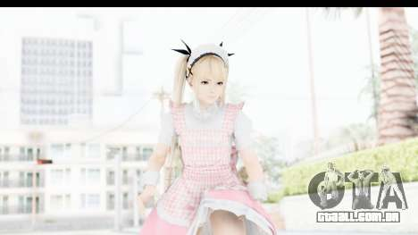 DoA 5: LR - Marie Rose Maid Remade para GTA San Andreas