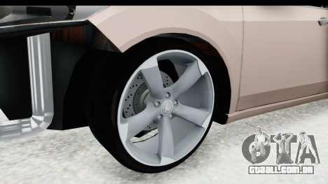 Honda Accord 2010 JDM para GTA San Andreas vista traseira