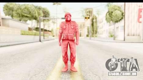 ArmyMen: Serge Heroes 2 - Man v3 para GTA San Andreas segunda tela