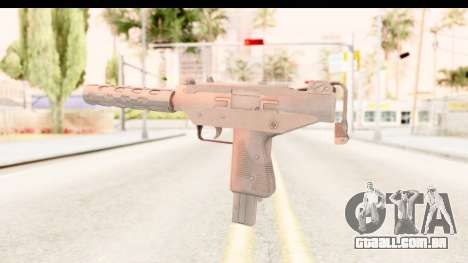 RE2 - Machine Gun para GTA San Andreas terceira tela