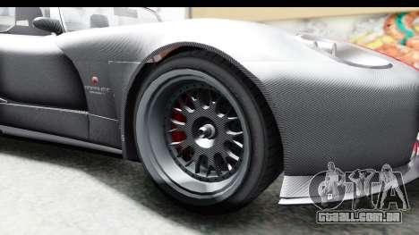 GTA 5 Bravado Banshee 900R Carbon Mip Map para GTA San Andreas vista traseira