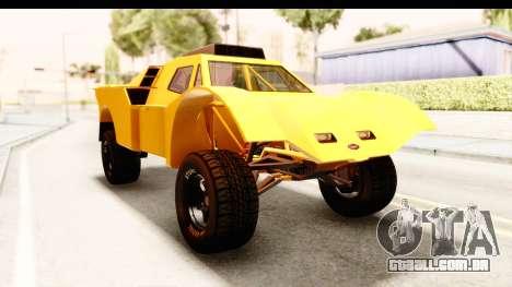 GTA 5 Desert Raid IVF PJ para GTA San Andreas vista direita